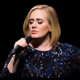 HER! I don't care if she isn't an actress I LOVE ADELE.