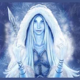 Skaði, Goddess of Winter and its Wrath
