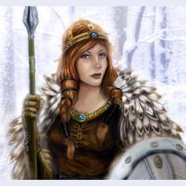 Freyja, Goddess of Love and War