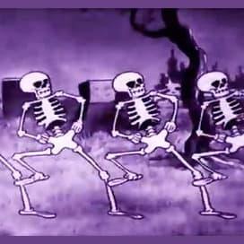 Spooky Scary Skeletons