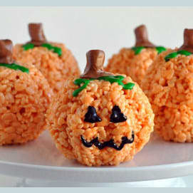 Pumpkin Crispies