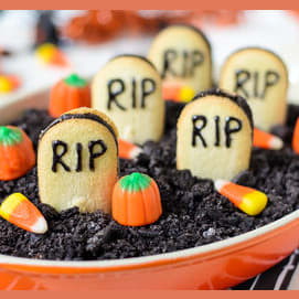 Graveyard Pudding