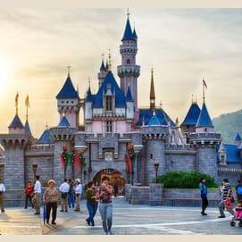 Hong Kong Disneyland!
