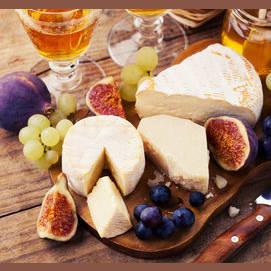 Un plato de queso