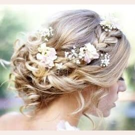 Detailed Flowers and Braids