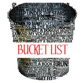 Work on my bucket list