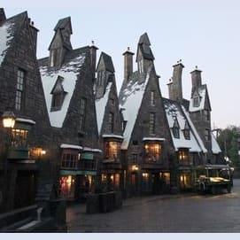 The Hogsmeade village