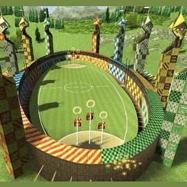 The Quidditch Pitch