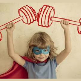 A Superhero Costume