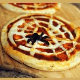 Spiderweb Mini Pizzas