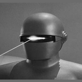 """Gort from """"The Day the Earth Stood Still""""."""