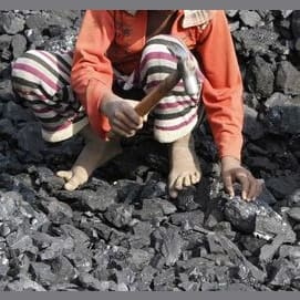 I worked in the coal mine twenty two hours a day for just half a cent!