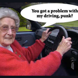 Can't you use your darn blinker?