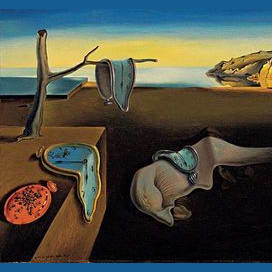 The Persistence of Memory, by Salvador Dali