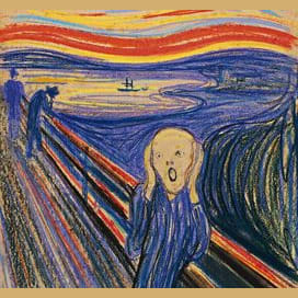 The Scream, by Munch
