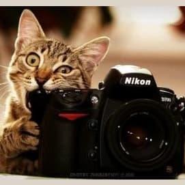 An old digital camera