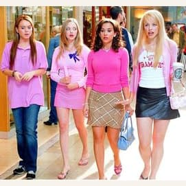 Hang out with your friends in the mall