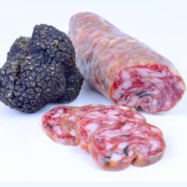 Black truffle salami