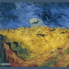 Wheat Field With Crows - Vincent Van Gogh