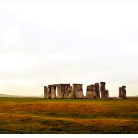 Visiting sacred sites such as Stonehenge