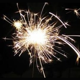 Use sparklers