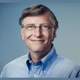 Bill Gates, American business magnate, philanthropist, investor, computer programmer, and inventor