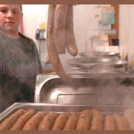boiled or steamed