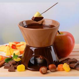 Csokifondü