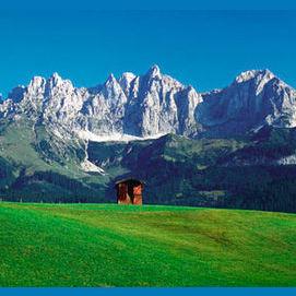 hegyek közé
