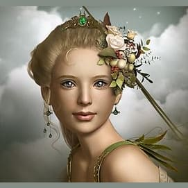 Demeter (goddess of grain, agriculture, growth, and nourishment)