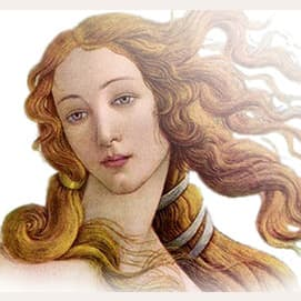 Aphrodite (goddess of love, beauty, desire, sexuality, and pleasure)