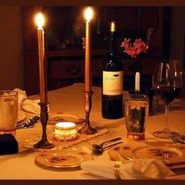 A formal dinner date