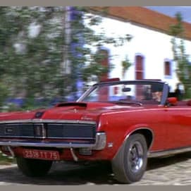 """Mercury Cougar convertible (""""On Her Majesty's Secret Service"""")"""
