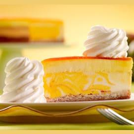 Mango Key Lime Cheesecake