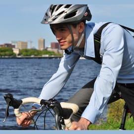 Alternative transportation (hybrid cars, public transportation, bicycling, walking)