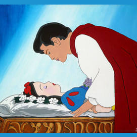 Snow White and the Prince, classic and timeless, the first Disney Princess couple will always hold a place in my heart
