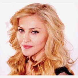 Madonnas dont shaved