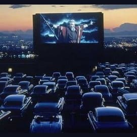 What's better than watching a movie in your car?