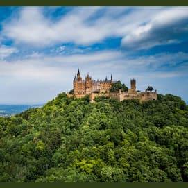 In a remote castle