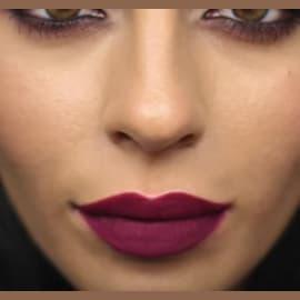 Dark Matte Lipstick Tutorial
