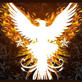 Phoenix. You rise from the ashes.