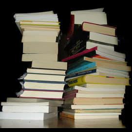 Secretly trade in books, despite the risk.