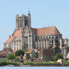 Cathedral of St. Étienne in Auxerre