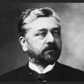Gustave Eiffel (b. 1832 in Dijon), civil engineer and architect.