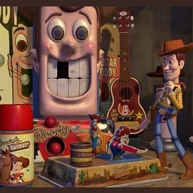 Woody's Roundup Toy Collection
