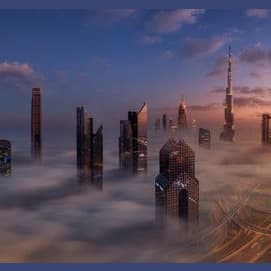 A city in the sky