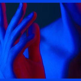 Blue skin