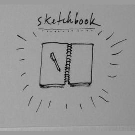 Whenever I spend time with my sketchbook