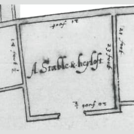 A stable and/or a hayloft