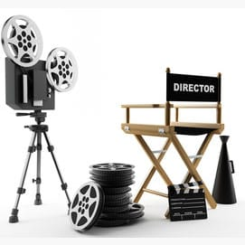 A film or TV director